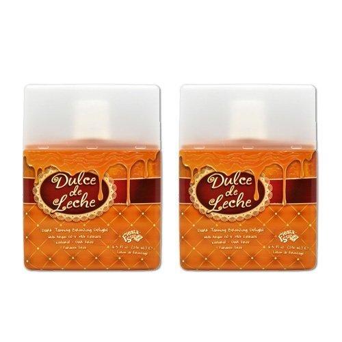 Lot 2 Fiesta Sun Dulce De Leche Dark Tanning Bronze Lotion Maximizer Tan Bed UV ()