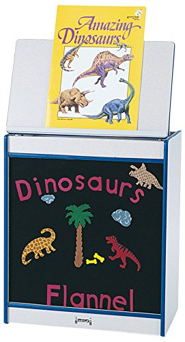 Rainbow Accents 0544JCWW007 Big Book Easel, Flannel, Yellow