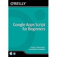 Google Apps Script for Beginners - Training DVD