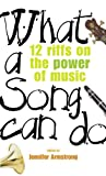What a Song Can Do, Jennifer Armstrong, 0440238161