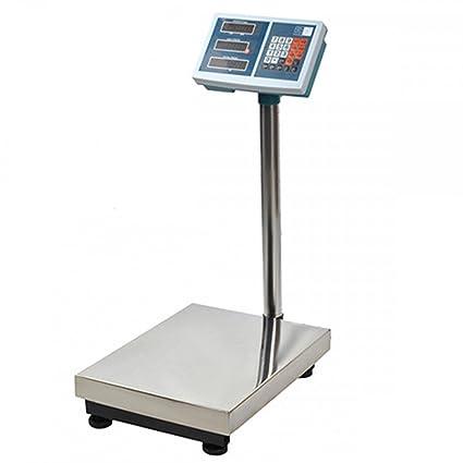 Balanza industrial electrónico 100 kg pantalla LCD