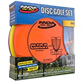 Innova Disc Golf Set - Driver, Mid-Range & Putter, Comfortable DX Plastic, Colors May Vary (3 Pack)