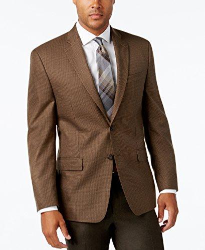 - Lauren Ralph Lauren Men's Houndstooth Sport Coat, Light Brown, 40R