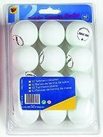 Tischtennis-Bälle weiß, 1-Stern, 12 Stück