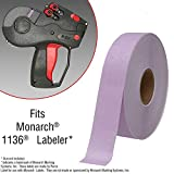 Lavender Pricing Labels for Monarch 1136 Price