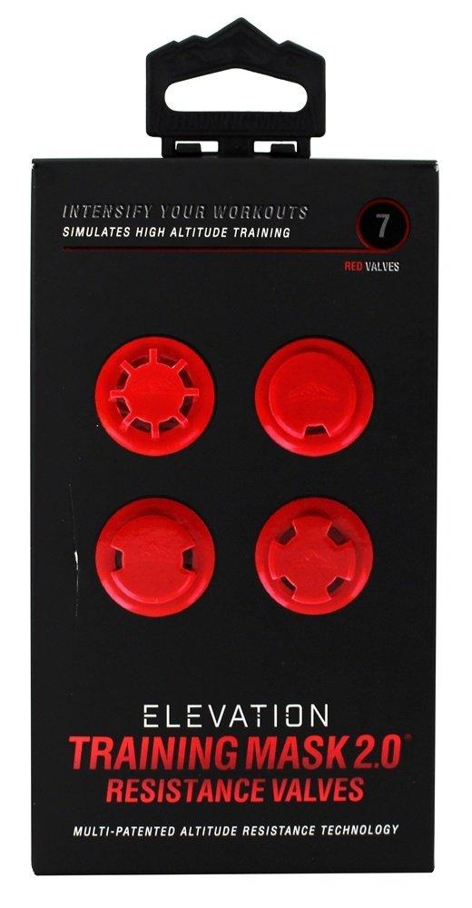 Training Mask Elevation 2.0 Resistance Valves (Red)