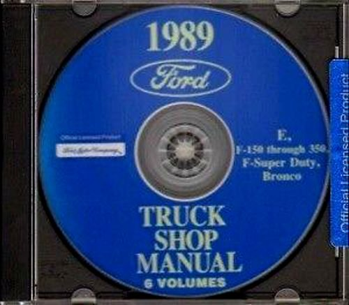 Amazon ford motors 1989 ford truck pickup factory repair shop amazon ford motors 1989 ford truck pickup factory repair shop manual cd includes ford broncof100f150f250f350f series super duty freerunsca Images