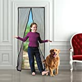 Magnetic Screen Door - Keeps The Fresh Air In and The Bugs Out - Mesh Comes With Velcro or Pins - Closes Automatically With The 18 Powerful Magnets - Fits Doors Up to 39'' x 83'' - Easy To Install.