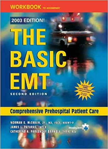 Workbook to Accompany The Basic EMT (2003 Edition): Student Workbook