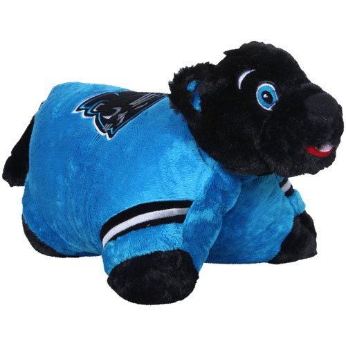 Carolina Panthers Embroidered Football (NFL Carolina Panthers Pillow Pet)