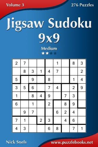Jigsaw Sudoku 9x9 Medium Puzzles product image