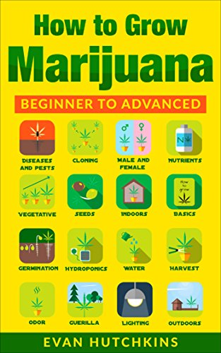 How to Grow Marijuana: Beginners to Advanced -Growing Medicinal Cannabis Indoors for Medicinal Use (Best Indoor Cannabis Grow Guide)