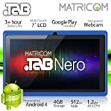 7″ Matricom .TAB Nero Tablet PC – Android 4 Capacitive Multi-Touch 4GB (Blue) image