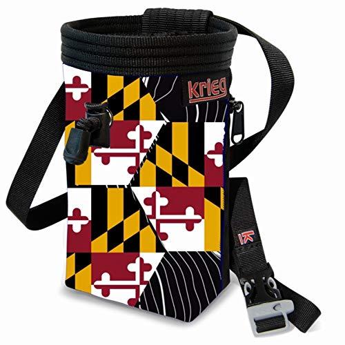 Krieg Climbing Maryland State Flag Chalk ()