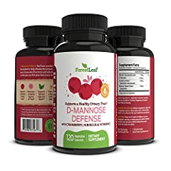 CLEANSE & DETOXIFY YOUR BODYForestLeaf's D-Mannose Defense Supplements are formulated to help cleanse the urinary tract of unwanted bacteria and infections so you can feel and perform at your best everyday.About This Product:• D-Mannose Supplemen...