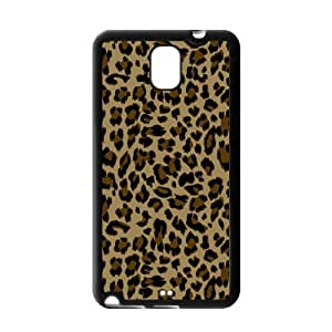 Fashionable Leopard Print Protective Gel Rubber Back Fits Cover Case for SamSung Galaxy Note 3