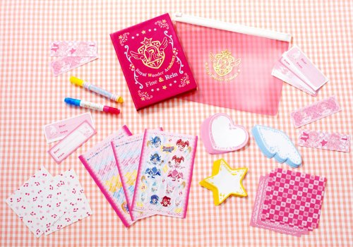 Wonderland star twin princess charm Wonder student handbook
