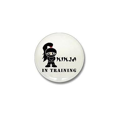 Amazon.com: CafePress – Niña Ninja en entrenamiento Mini ...