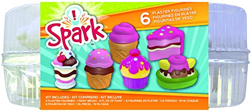 Colorbok 54864A Plaster Figurines