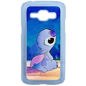 Lapinette COQUE-J1-STITCH - Funda carcasa para Samsung Galaxy J1 diseño Disney Lilo E Stitch 1