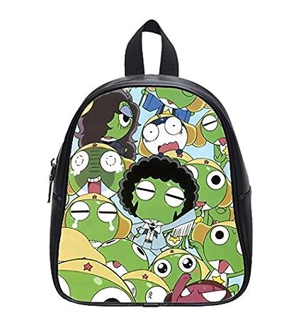 Amazon.com: Frog Keroro Custom Kids School Backpack Bag ...