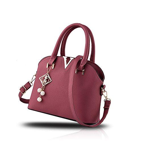 bolso bolso el carpeta la señoras la cáscara En colgante Tisdaini las mujeres de Caucho Polvo de de pequeño de con las de Bolso del paquete hombro nuevas qnw7H0n1