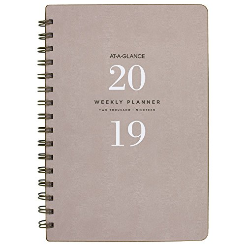 Acco Brands Planner (AT-A-GLANCE 2019 Weekly & Monthly Planner, 5-3/4