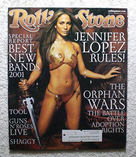 (Jennifer Lopez - Rolling Stone Magazine - #862 - February 15, 2001 - The Battle over Adoption Rights, Shaggy articles)