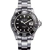 Davosa Swiss Made Men Wrist Watch, Ternos Ceramic 16155550 Professional Automatic Analog Display & Luxury Bezel