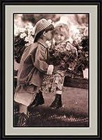 """Whispered Secrets"" by Betsy Cameron - Framed Artwork"