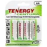 Tenergy Centura AA Low Self-Discharge (LSD) NiMH Rechargeable Batteries, 1 Ca...