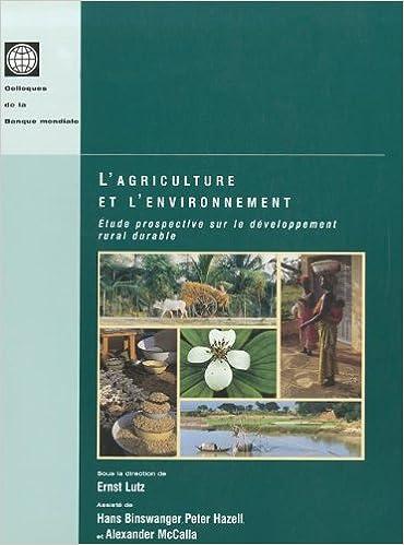 En ligne téléchargement Agriculture and the Environment: Perspectives on Sustainable Rural Development epub pdf