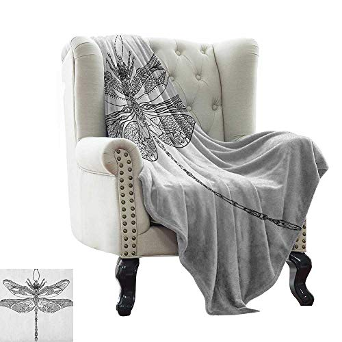 (Anyangeight Blanket Storage Bags with Zippers Damask,Flourishing Rich Ornate Flowers Royal Traditional Old Tile Classic Details, Charcoal Grey White 62