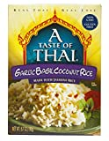 A Taste of Thai Garlic Basil Coconut Rice, 6.7 oz Box, 6 Piece