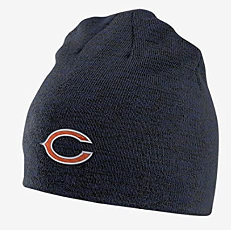 Amazon.com   Nike Unisex Reversible NFL Chicago Bears Beanie ... 0b4e7770f98