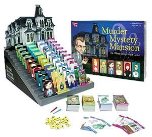 University Games Murder Mystery Mansion - Juego de mesa (en inglés)