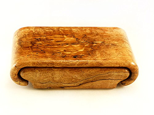 Quilted Maple Burl Box by Wood Box Art