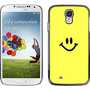 Kingsface Hard protective case cover for Samsung hQ5QmpgWnw0 Galaxy S4 / Happy Smiley Face