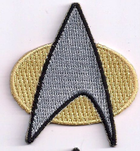 Star Trek The Next Generation Communicator Logo PATCH ()