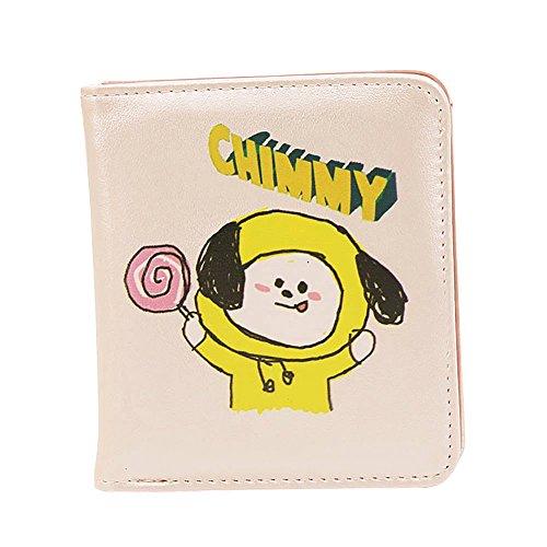 Kpop BTS Cartoon Geldtasche Geldbeutel für Jungen Mädchen Große Kapazität GeldtascheGeschenk Wallet Muster 4 Muster 5 BA3YRp