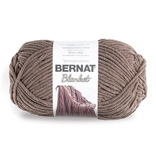 - Bernat Blanket Yarn, Taupe