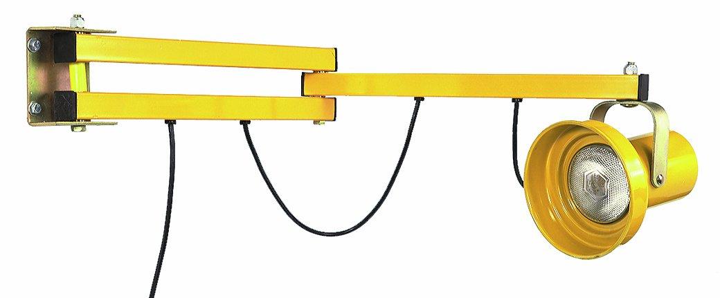 Wesco Industrial Products 272240 Heavy Duty Steel Dock Light, 40'' Length