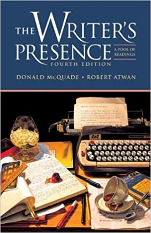 Amazon the writers presence a pool of readings 9780312400279 amazon the writers presence a pool of readings 9780312400279 donald mcquade robert atwan books fandeluxe Images