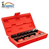 Okri Clutch Alignment Tool Universal, 17Pc Car Alignment Tool Set Pilot Bearing Removal Kit with Flywheel