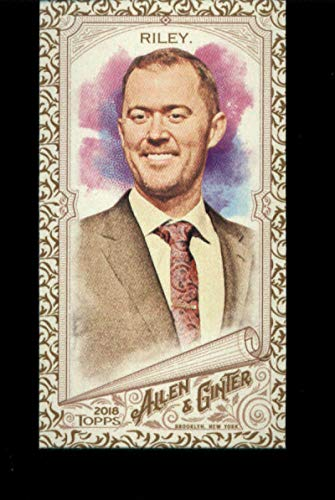 2018 Topps Allen and Ginter Mini Gold #175 Lincoln Riley Official MLB Trading Card