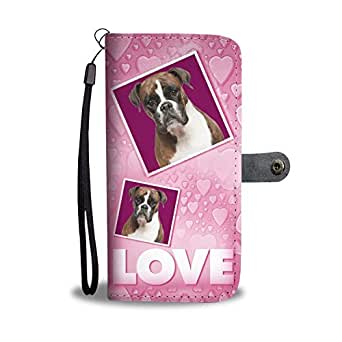 Amazon.com: Dog Print Phone Case, Boxer Dog Print
