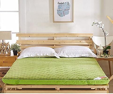 FUIOLWP colchón Acolchado/colchón Transpirable/colchón de Tatami de la Esponja/Tienda de Tierra de Verano/Sleeping Pad-A 150 * 200cm(59x79inch)