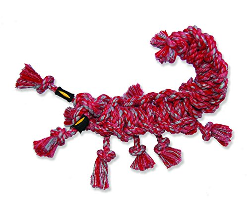 Mammoth's SnakeBiter Scorpion 10-inch Rope Toy, Medium  (Assorted Colors)