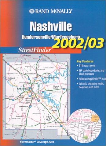 Rand McNally 2002-03 Nashville/ Hendersonville/Murfreesboro Streetfinder (Rand McNally Streetfinder)