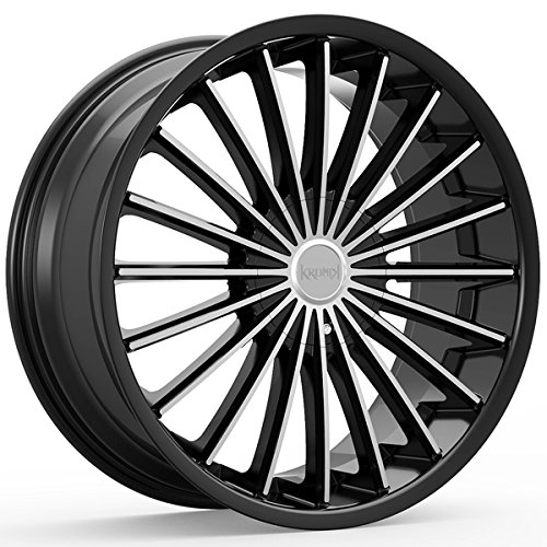 Kronik KUSH 406 Gloss Black/Machined Wheel with Machined Finish (22x8.5